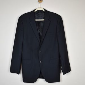 (HUGO BOSS) Tailored Black Suit Jacket